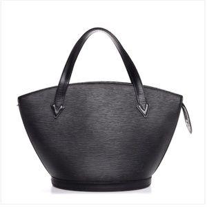 Louis Vuitton Saint Jacques Black Epi Leather PM